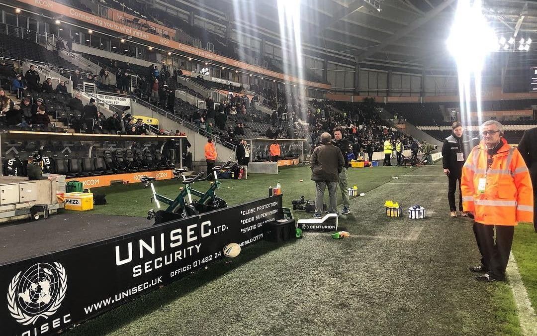 Unisec Security – proud to sponsor Hull FC